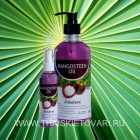 Massage oil with extracts of mangosteen, 120 ml.