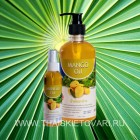 Massage oil with extracts of mango, 120 ml.