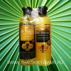 Shampoo and conditioner on the basis of honey