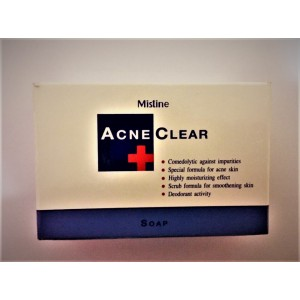 Soap for the treatment of acne from the brand Mistine, 90 grams.
