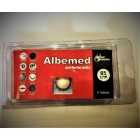 Anthelminthic drug Albemed for treatment of helminthic invasions, 6 tablets.
