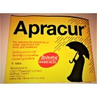 Apracur tablets for quick elimination of cold and flu symptoms, 4 tablets.
