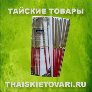 Incense sticks with the scent of sandalwood and jasmine, 22 pcs.