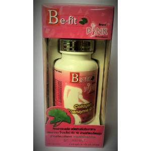 Capsules to improve skin condition and weight loss Be-fit Pink Collagen, 60 capsules.