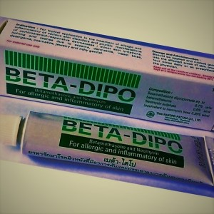 Ointment Beta-Dipo for the treatment of skin pathologies, 15 grams.