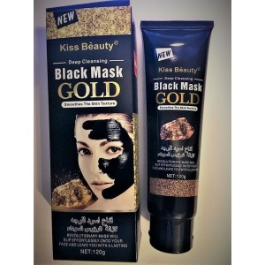 Rejuvenating mask-film for face with gold and mulberry extract Black Mask GOLD, 120 ml.