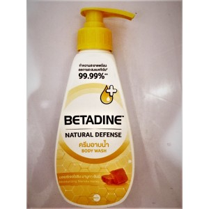 Cream-foam for shower BETADINE on the basis of natural honey extract, 90 ml.