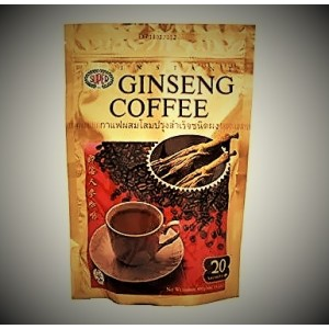 Instant coffee with ginseng and cream. Three in one, 400 grams.