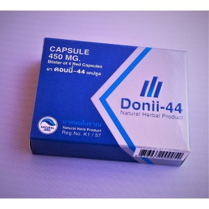 Herbal Viagra for men and women DONII-44, 4 capsules.