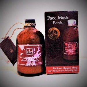 Toning SPA Face Mask with extracts of turmeric, tamarind and mangosteen Madame Heng, 50 grams.