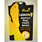 Socks for a pedicure with natural extracts of lemon and aloe vera, 2 pairs.