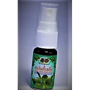Refreshing spray for the oral cavity with extract of guava and peppermint Abhaibhubejhr, 12 ml.