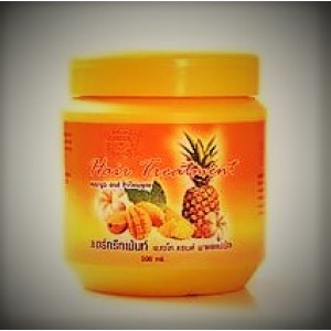 Nourishing mask with pineapple and mango to eliminate fragility of hair Darawadee, 500 ml.