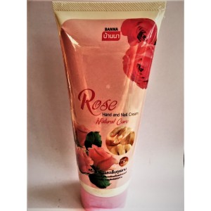 Hand cream with rose extract and BANNA vitamins, 200 ml.