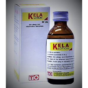Lotion KELA for the treatment of psoriasis, eczema and allergic dermatitis, 30 ml.