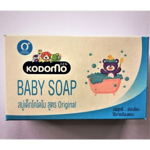 Baby milk and yoghurt soap from the brand KODOMO, 90 grams.