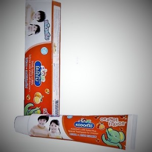 Toothpaste for children from Thailand Kodomo, 40 grams.