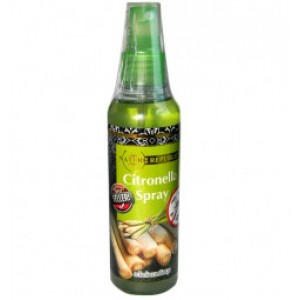 Fluid spray from mosquitoes and mosquitoes with lemongrass extract, 75 ml.