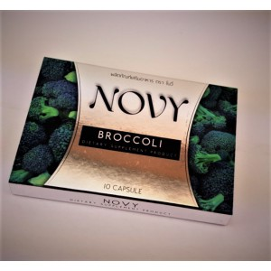 Novy broccoli capsules for safe and effective weight loss, 10 capsules.