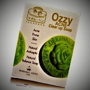 Soap with antibacterial action Madame Heng Ozzy Acne, 50 grams.