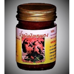 Red warming balm Pai Dang with root extract of galangal, 50 grams.