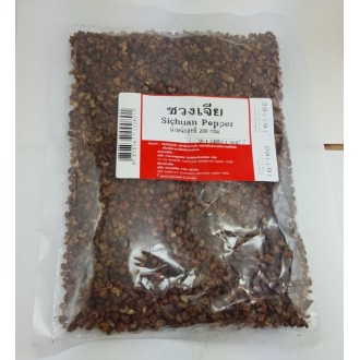 Szechuan pepper is a Thai seasoning for Asian cuisine.