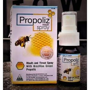 Natural spray based on propolis for the treatment of colds, 15 ml.