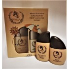 Cream and emulsion for Horse Oil with sunscreen effect SPF 35 PA +++