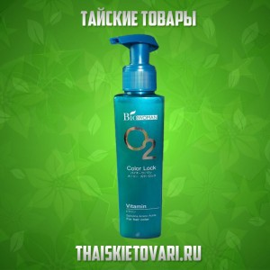 Shampoo for colored hair with spirulina Biowoman, 500 ml.
