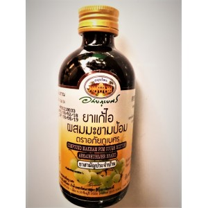 Thai cough syrup based on the mouse, 120 ml.