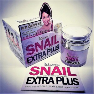 Anti-aging cream with whitening effect Snail Extra Plus, 50 ml.