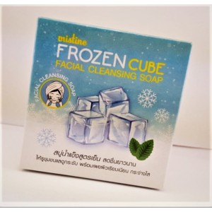 Thai soap Mistine with a cooling effect for the quality cleansing of the face, 80 grams.