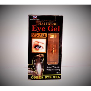 Anti-aging Cobra gel for the skin around the eyes with the effect of Botox, 15 ml.