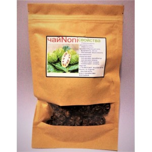 Tea from the dried noni fruit, 100 grams.