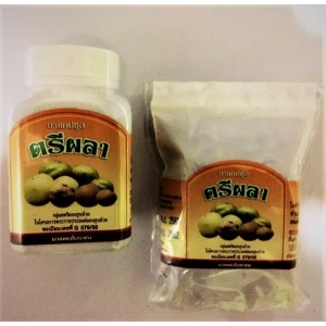 Capsules Triphala for body cleansing and weight loss, 100 capsules.
