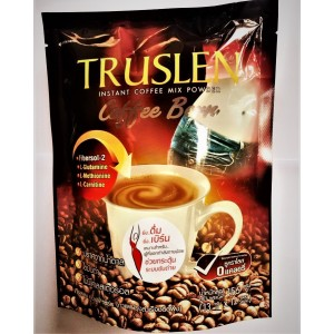 Coffee with cream for slimming and reducing cholesterol TRUSLEN, 156 grams.